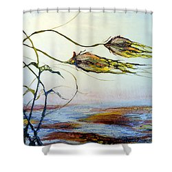 Twin Breezes Shower Curtain