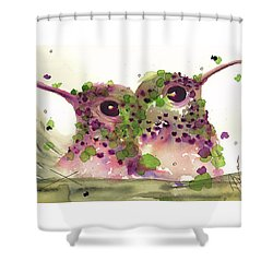 Twin Hummers Shower Curtain