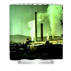 Twin Peaks Shower Curtain