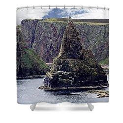 Twin Peaks Shower Curtain by Roger Wedegis