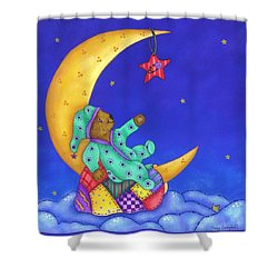 Twinkle Little Star Shower Curtain