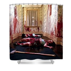 Twins Murdered @ The Shining Shower Curtain