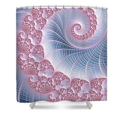 Twirly Swirl Shower Curtain