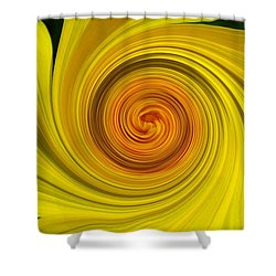 Twisted Shower Curtain by Janice Westerberg