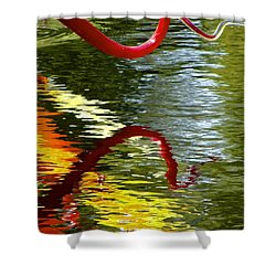 Twisted Ripples Shower Curtain