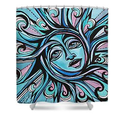 Twisted - Sun  Shower Curtain