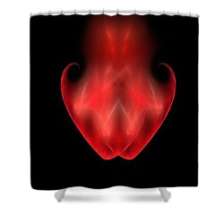 Two Become One Shower Curtain by Bruce Nutting