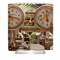 Two Farm Scales Shower Curtain