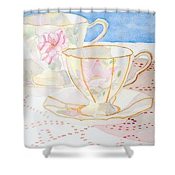Two For Tea Shower Curtain