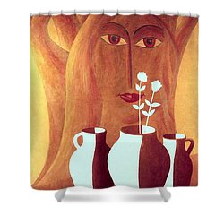 Two Lives Shower Curtain