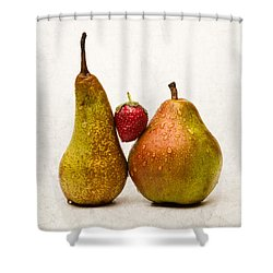 Two Lives One Heart Shower Curtain by Alexander Senin