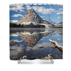 Two Medicine Morning Shower Curtain