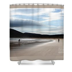 Two On A Beach Shower Curtain