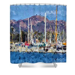 Two Trees Ventura  Shower Curtain