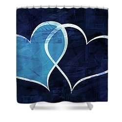 Two Will Become One Shower Curtain by Aaron Berg