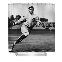 Ty Cobb Shower Curtain