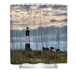 Tybee Light Shower Curtain