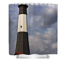Tybee Lighthouse Shower Curtain by Linda Blair