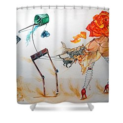 Tyrants Of Desire Shower Curtain
