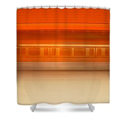 U-motion Shower Curtain by Hannes Cmarits