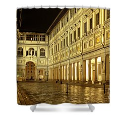 Uffizi Gallery Florence Italy Shower Curtain