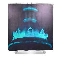 Ufo Dome Shower Curtain