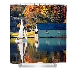 Ullswater Shower Curtain by Linsey Williams