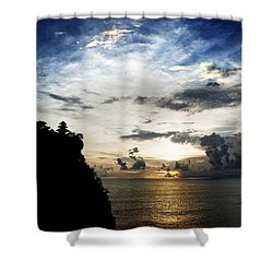 Uluwatu Temple Shower Curtain by Yew Kwang
