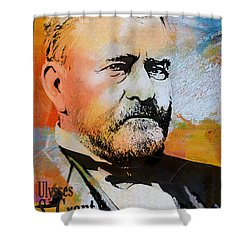 Ulysses S. Grant Shower Curtain by Corporate Art Task Force