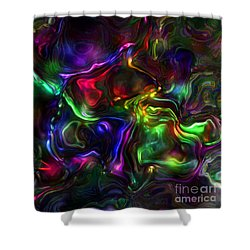 Umbilical Souls Shower Curtain by RC deWinter