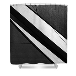 Umbrella Abstract Shower Curtain