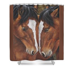 Unbridled Affection Shower Curtain