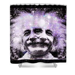 Uncle Albert Shower Curtain by Elizabeth McTaggart