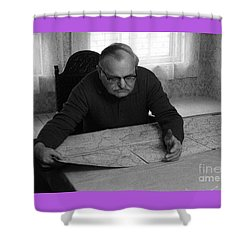 Shower Curtain featuring the photograph Uncle Charles by Steven Macanka