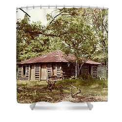 Uncle Toms Cabin Brookhaven Mississippi Shower Curtain by Michael Hoard