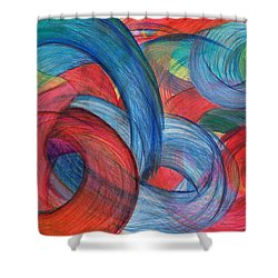 Uncovered Curves Shower Curtain by Kelly K H B