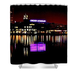 Under Armour At Night Shower Curtain