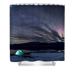 Under Big Skies Shower Curtain