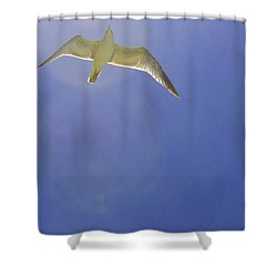 Under His Wings II Shower Curtain