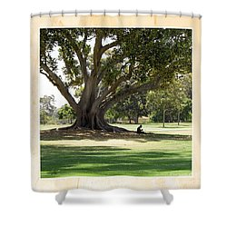 Under The Big Old Tree Shower Curtain