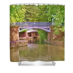 Under The Bridges Shower Curtain