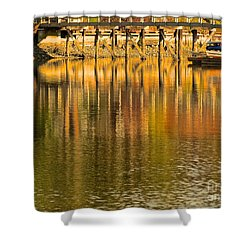 Under The Dock Shower Curtain