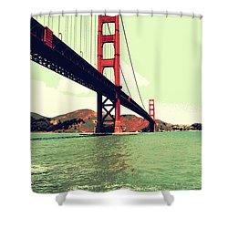 Under The Golden Gate Shower Curtain