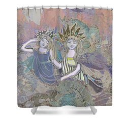 Under The Sea Shower Curtain by Amelia Carrie
