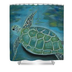 Under The Sea Shower Curtain by Mary Benke