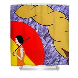 Under The Shelter Of Your Love Shower Curtain by Patrick J Murphy
