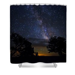 Under The Stars At The Grand Canyon  Shower Curtain