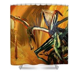 Undergrowth Disturbed Shower Curtain