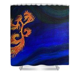 Undersea 1 Shower Curtain by Robert Nickologianis