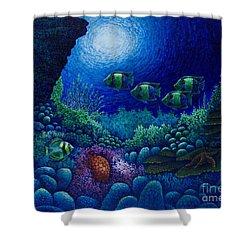 Undersea Creatures Iv Shower Curtain